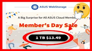 ASUS Webstorage  $13.49 For 1 Year For 1 TB Of Cloud Storage! Best Offer or Biggest SCAM Ever? screenshot 5
