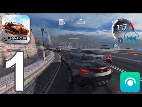 Gear Club - Gameplay Walkthrough Part 1 - Dream Coast (iOS, Android)