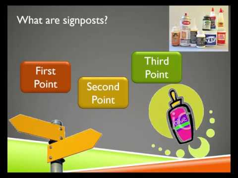 Signposting: Making It Easy for your Audience to Follow Your Speech