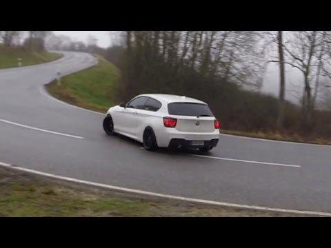 Смотреть The biggest BMW M135i street Drift Compilation + Straight pipe exhaust sound онлайн