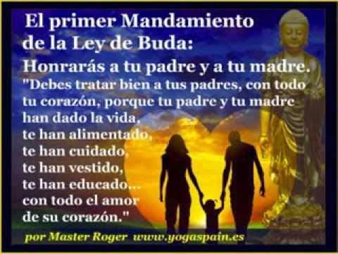 Buda los 10 mandamientos de la ley de buda www yogadragon - Mandamientos del budismo ...