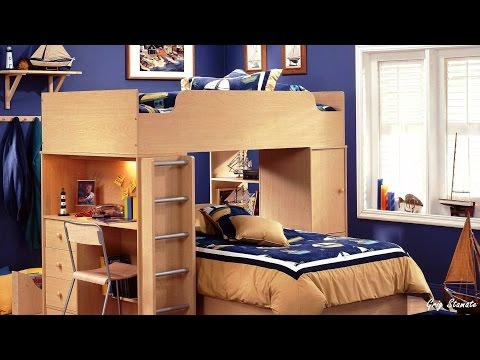 Superb Space Saving Ideas For Kids Bedrooms