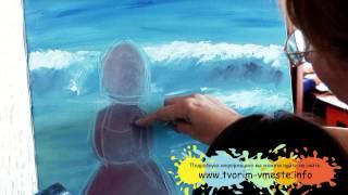 """Обучение живописи детей в арт центре """"Творим вместе"""""""