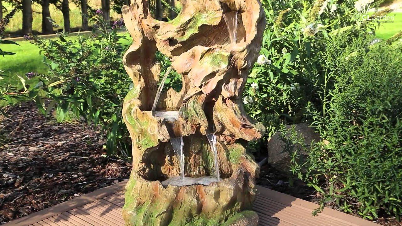 Wurzelbrunnen Clgarden Dsb15 Baumwurzel Springbrunnen