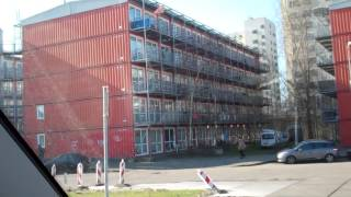 1000 Shipping Container City cheap houses , Amsterdam , Holland. thumbnail