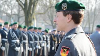 Wachbataillon - Gauck in der Julius-Leber-Kaserne