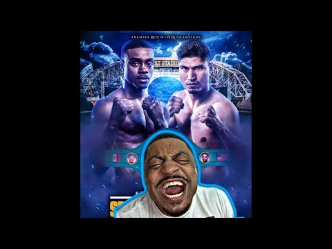 Errol Spence VS Mikey Garcia - LIVE COMMENTARY ONLY