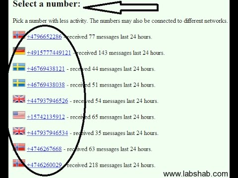 How To Get Free Us Phone Number 100 Working Virtual Number App
