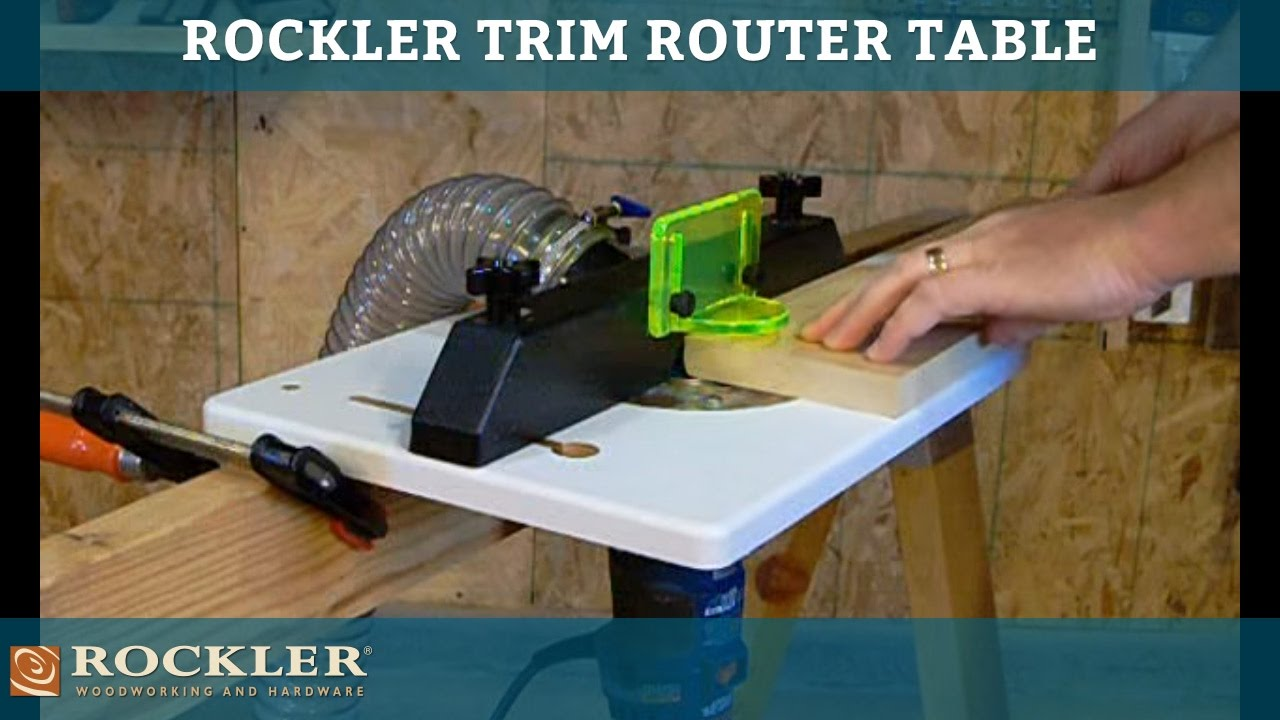 Rockler trim router table youtube greentooth Image collections