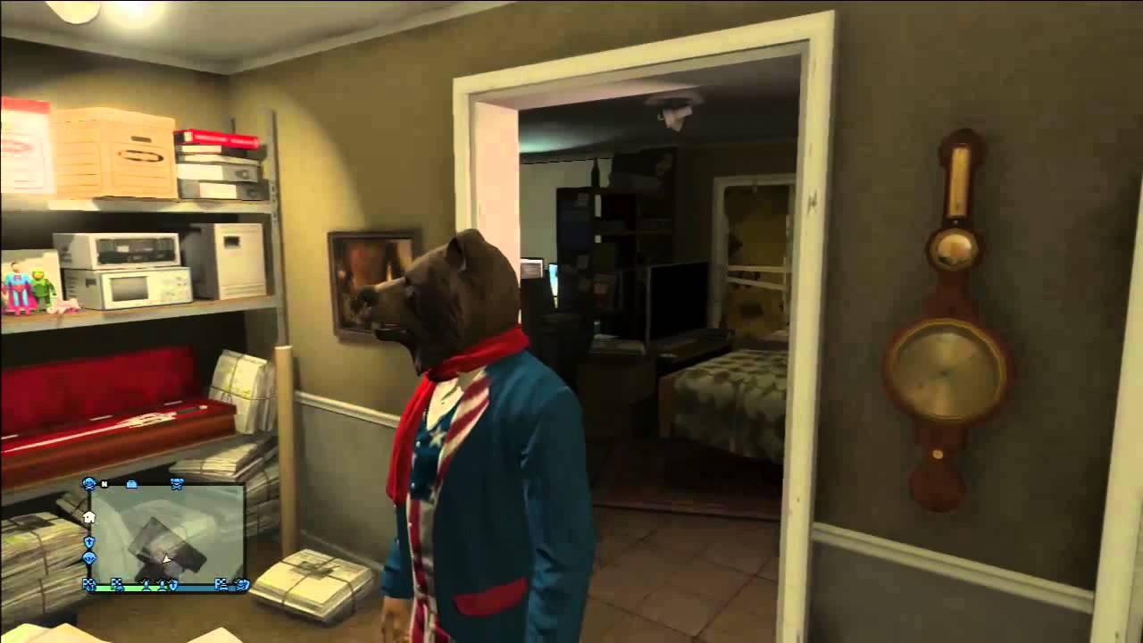 Escondites secretos de gta v online casa de lester youtube - Escondites secretos en casa ...