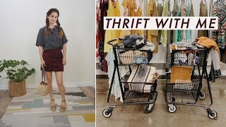 Thrift With Me For Fall Vintage! Vlog & Try-On | Alli Cherry