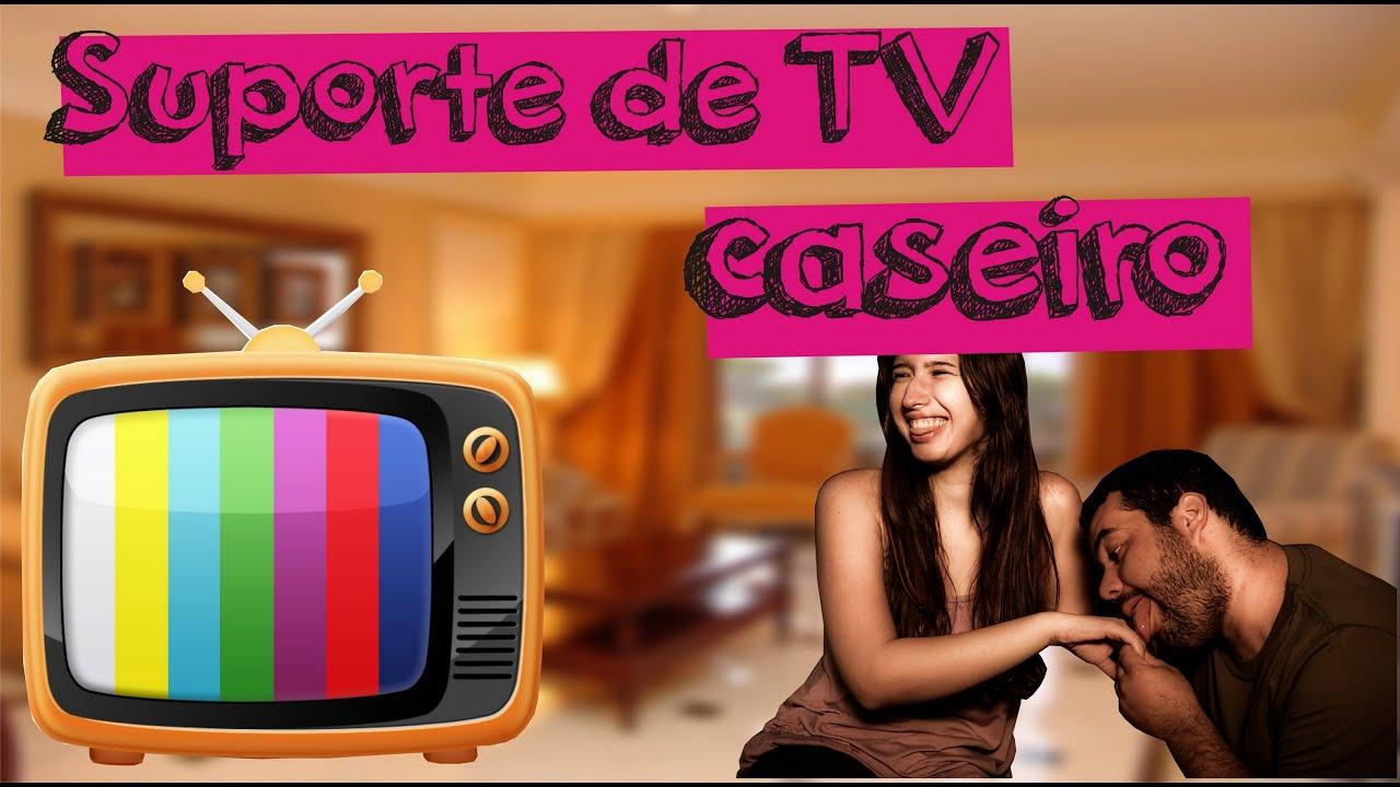 Suporte de TV Caseiro   #BA1168 3000x1671