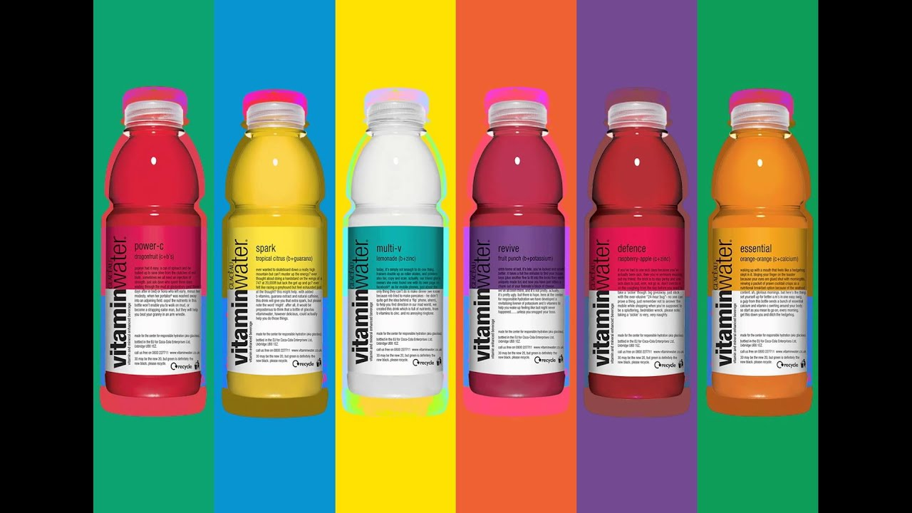 glaceau marketing vitamin water Low kilojoule glacéau vitaminwater has always been a simple idea, start with water then add bold, fruity flavours to make it delicious glacéau vitaminwater is the pioneer of the nutrient-enhanced water beverage category, and is available in over 26 countries.