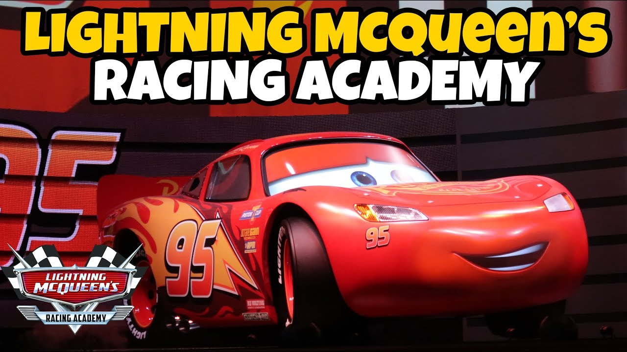 Lightning McQueen's Racing Academy FULL SHOW Disney World