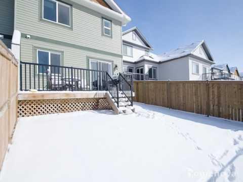 Homenova Semi-Detached House For Rent: 211 Kingsbridge Rd, Airdrie, Alberta T4A 0M2