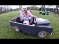 Toylander Part 2 - Mini Land Rover Series 1- First test Run under own power