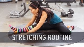 Stretching Routine: Warm Up Exercises