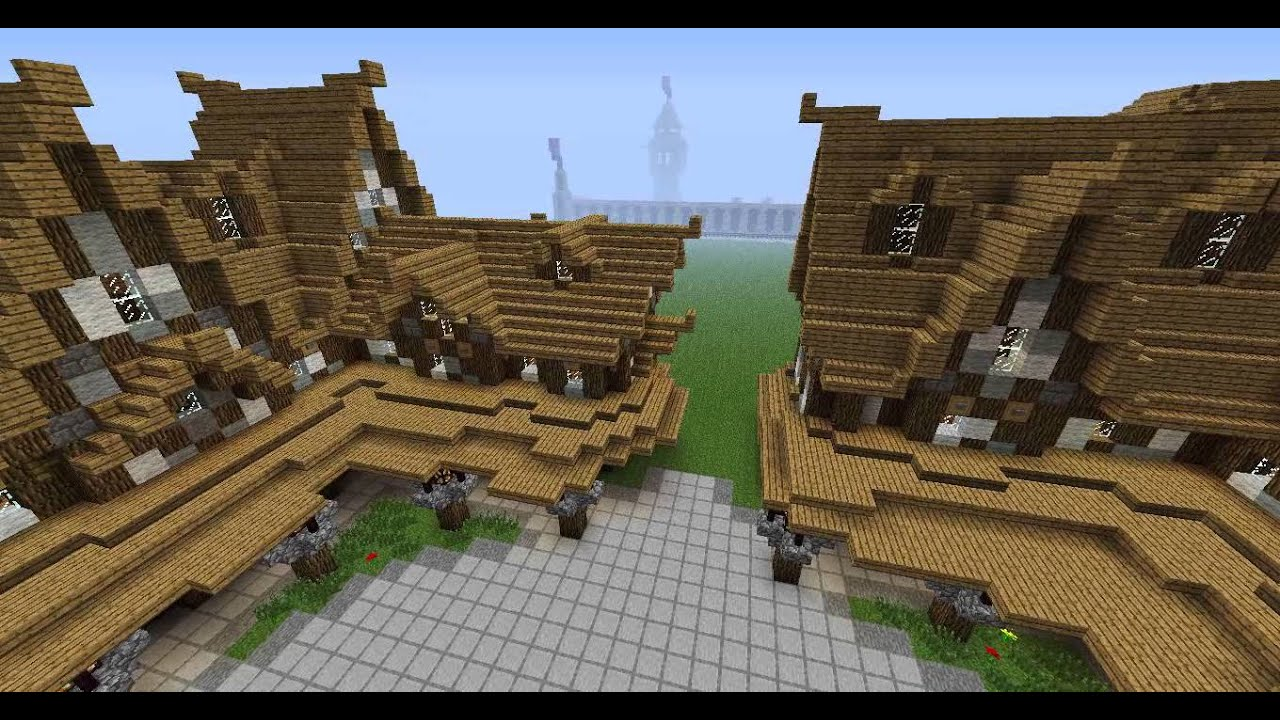My Medieval Town Square Design Youtube