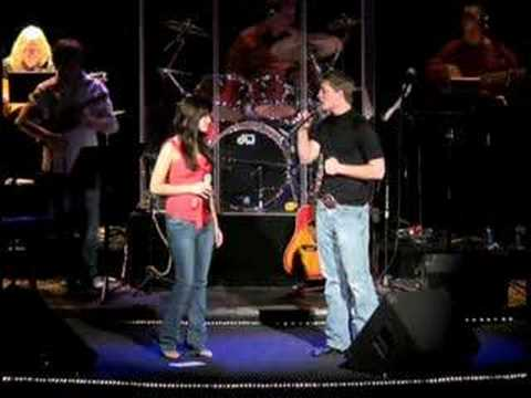 Cheyenne and Cameron performing - In Another Eyes