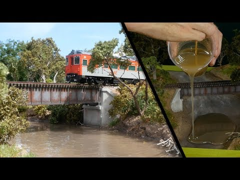 Ultra-Realistic Muddy River Diorama – Realistic Scenery Vol.15