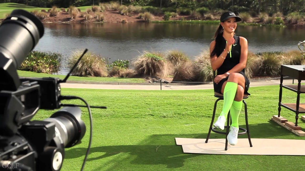 Michelle Wie: Behind the Scenes at the GOLF Magazine Cover ...