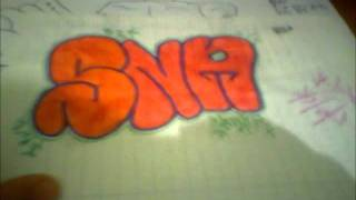 sna graffiti #2