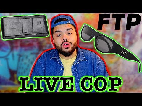 FTP x CrapEyewear  COP SUCCESS 2019 F*ckThePopulation Online Checkout