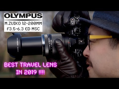 BEST Travel Lens 2019? Olympus M.Zuiko 12-200mm - RED35 Review