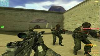 Counter Strike 1.6 - Modern Warfare 2 - Gameplay PC By Honakhy - HD