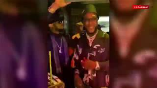 Stefflon Don, Dbanj, Zlatan Ibile And Others Party With Burna Boy