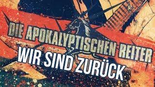 DIE APOKALYPTISCHEN REITER Wir Sind Zurück OFFICIAL LYRIC VIDEO