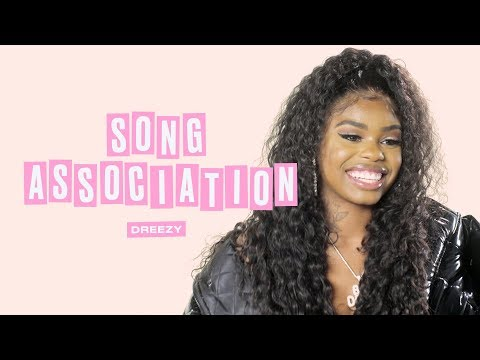Dreezy Raps Cardi B, Jay Z, and Saweetie in a Game of Song Association | ELLE
