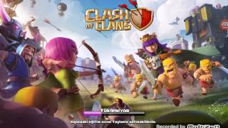 Clash of clans (500 buz büyücüsü+180 Ejder+200 madenci+100 yavru Ejder+100 P.E.K.K.A saldırısı)(max)