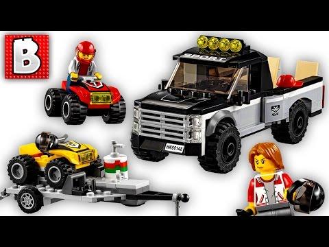 LEGO ATV Race Team City Set 60148 Live Build