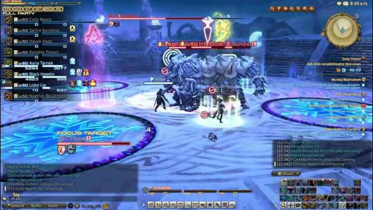 this is what happens when you disconnect in shiva ex (FFXIV:ARR)