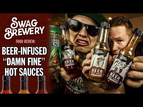 Swag Brewery's Beer-Infused Hot Sauce Trio Review