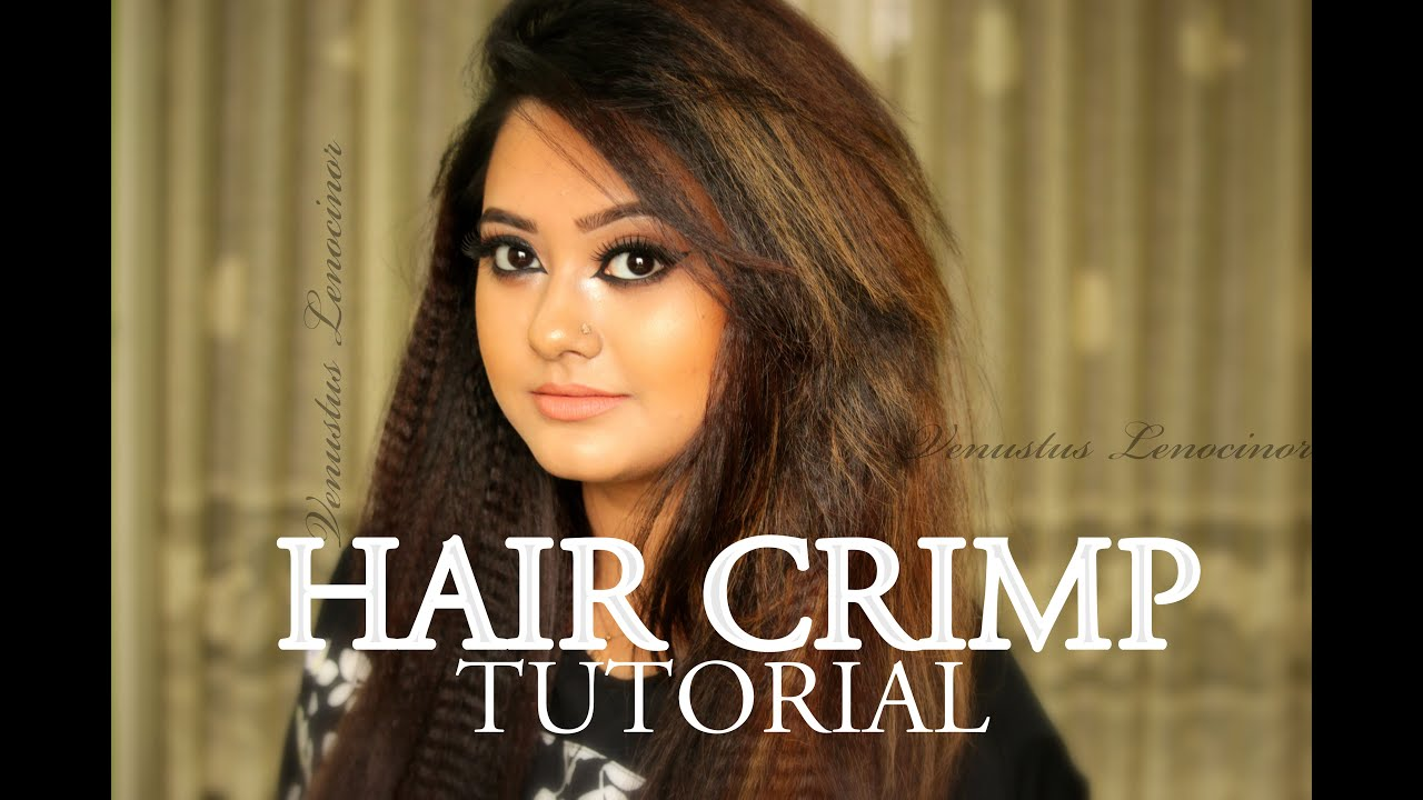 HOW TO CRIMP HAIR WITH A CRIMPER IRON HAIR STYLING TUTORIAL
