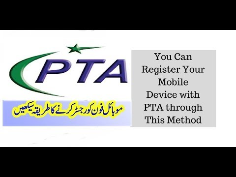 How to register your mobile device with PTA - Easy Steps DIRBS  2019