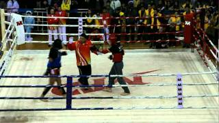 Ip Man Cup 2012 - Wing Chun open competition:  Wing Chun vs Sanda. Video # 1