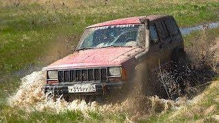 В чём сила Jeep? Топи, ломай, проезжай. Самая жесть в болотной авантюре. Бездорожье 2018