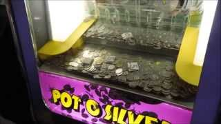 Coin Pusher- Putting in $5 at One Time!