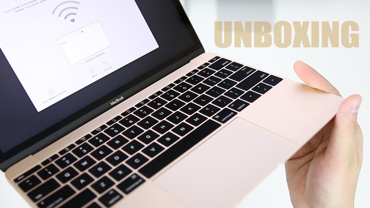 Golden Macbook
