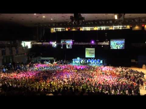 DanceBlue 2015 Marathon Finale Dance University of Kentucky (UK Dance Blue) Part 1