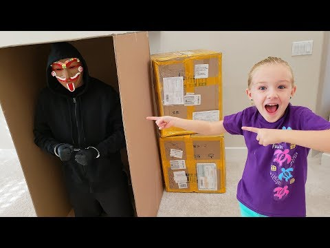 Mailing the Gingerbread Man GM in a Box to Twin Toys GONE WRONG!!! Escape Caught on Camera!
