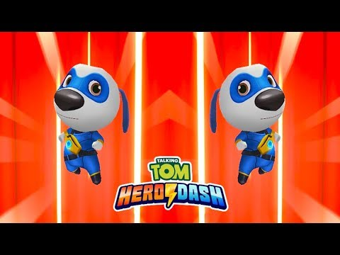 Talking Tom Hero Dash - SUPER HANK VS THE MIRROR