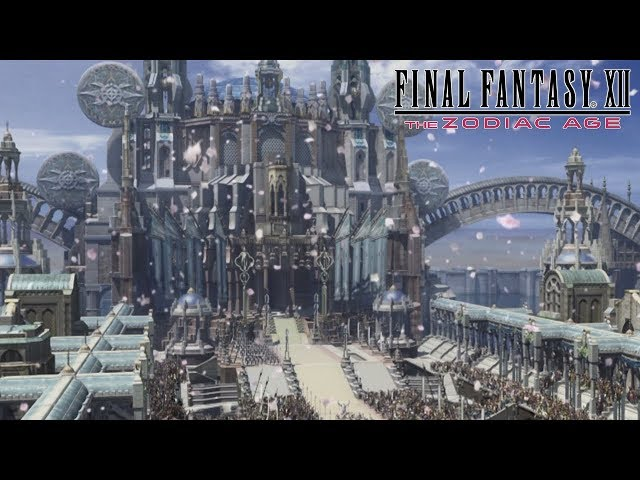 FINAL FANTASY XII THE ZODIAC AGE Remastered Title Cinematic Trailer