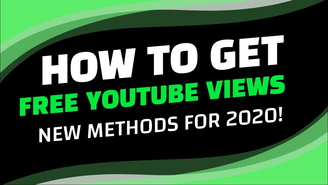 HOW TO GET FREE YOUTUBE VIEWS [NEW METHOD USING FLIVE]