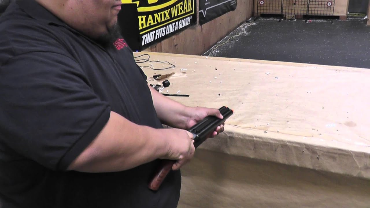 Top Airsoft GI Uncut - KJ Works Full Metal / Real Wood HS Double  MA35