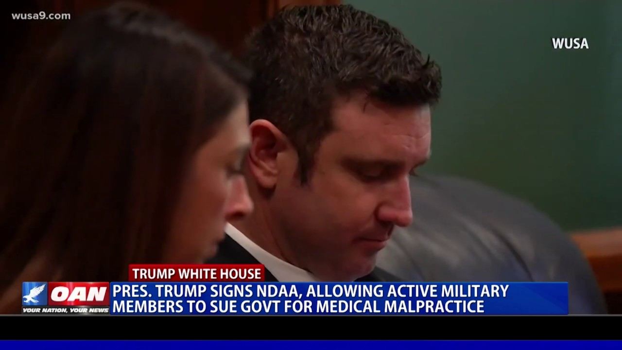 President Trump signs NDAA, allowing active military members to sue for medical malpractice - OAN
