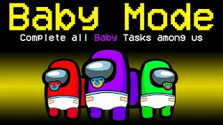 Among Us With NEW BABY MODE.. (hilarious)
